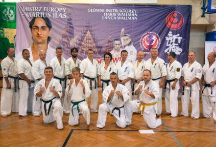 Międzynarodowy Obóz Karate Shinkyokushin Wrocław 2015