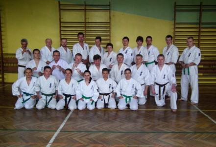 Kurs instruktora sportu Karate Kyokushin