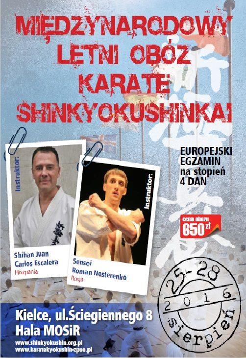 Międzynarodowy Letni Obóz Karate Shinkyokushinkai