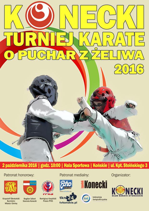 """Konecki Turniej Karate """"O PUCHAR Z ŻELIWA"""" 2016"""