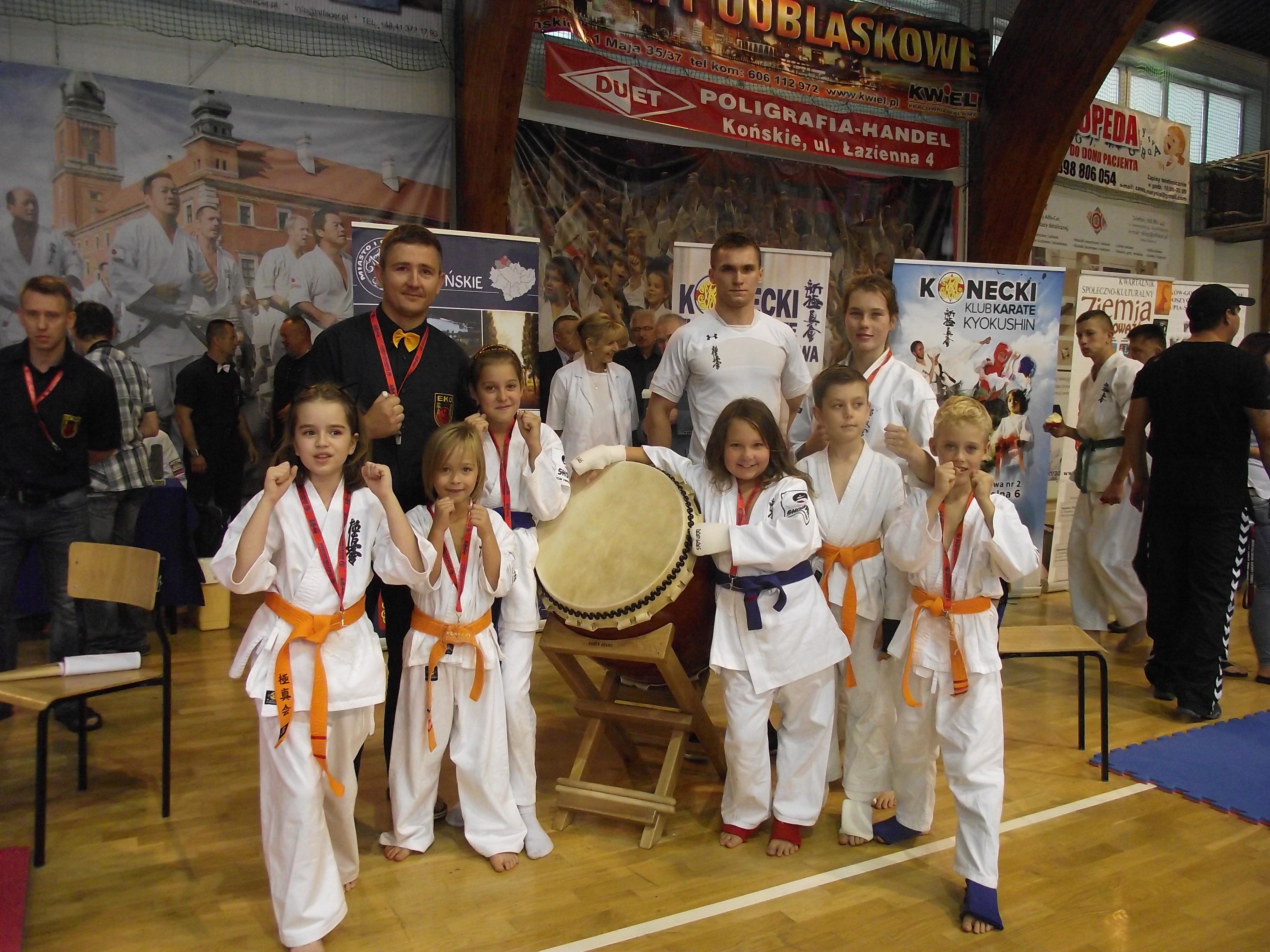 """Relacja z koneckiego """"Turnieju Karate o Puchar z Żeliwa"""" 2016"""