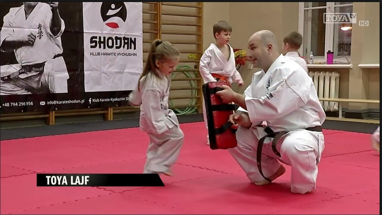 """""""Karate: sport czy sztuka walki"""" w TV Toya."""