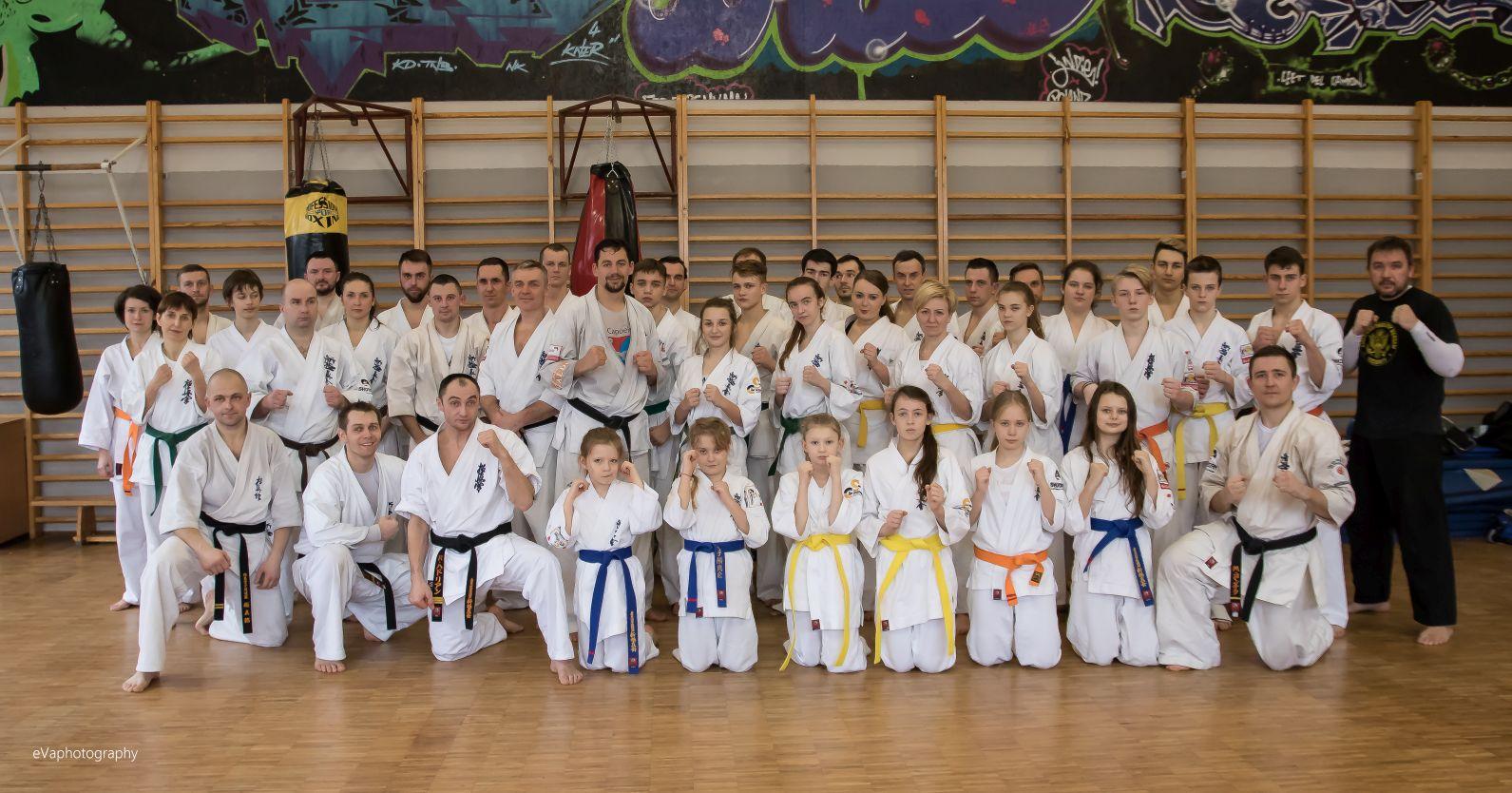 Seminarium kumite z Mistrzem Europy Sensei Maciejem Mazurem