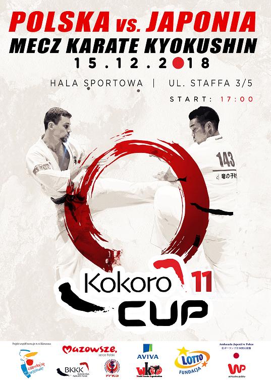 Kokoro Cup 11 – Mecz Polska-Japonia