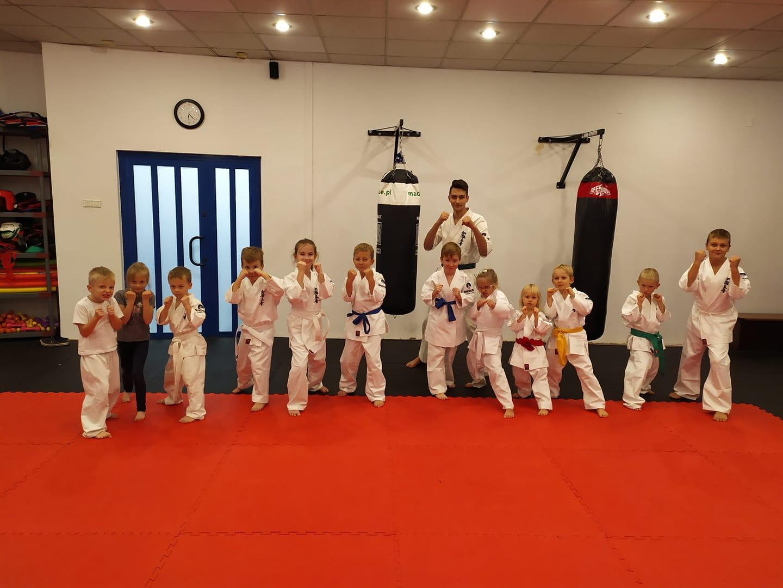 Nowa grupa dzieci już trenuje w Klubie Shodan