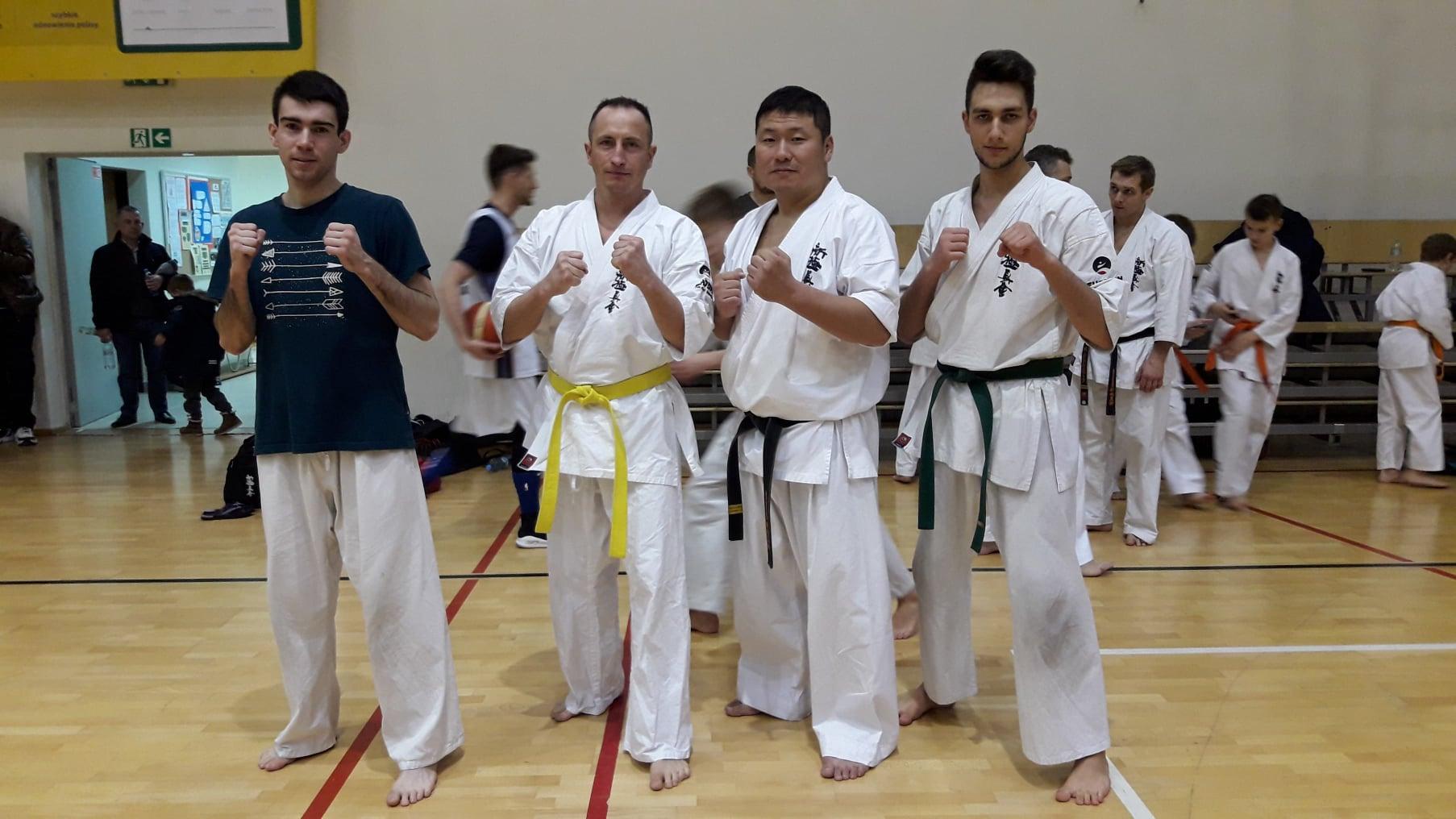 Trening z Mistrzem Świata Takayuki Tsukagoshi.