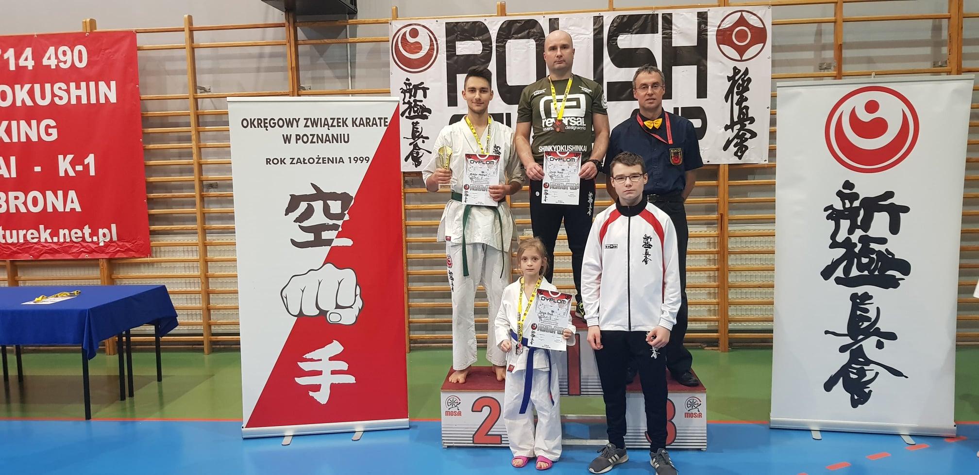 Z Turnieju Polish Fighter Cup w Kole przywozimy 3 medale.