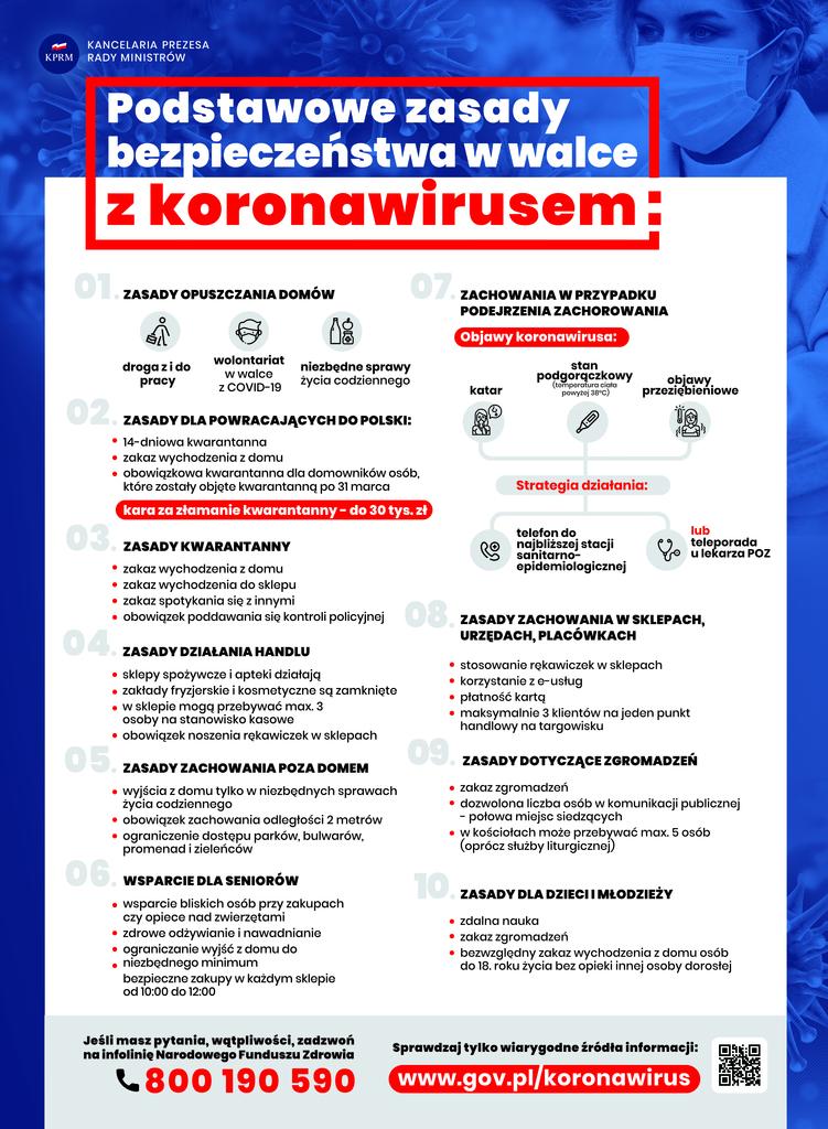 Informacja dotycząca treningów od 17.10.2020